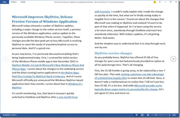 Microsoft Office 2013 to get in-built PDF editing support