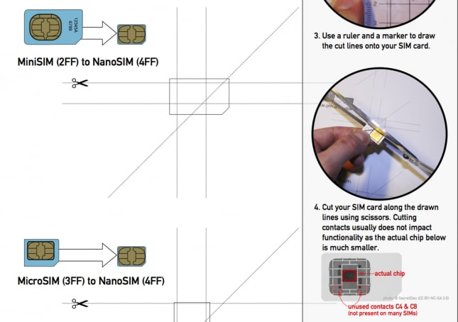 Wondering How To Convert Your Standard SIM Into A Nano SIM? Well, Donu0027t  Fret As A Step By Step Guide For Doing The Same Is Available.