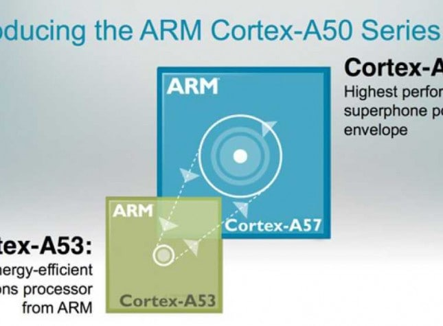ARM announces Cortex A57 and Cortex A53 processors, mass production