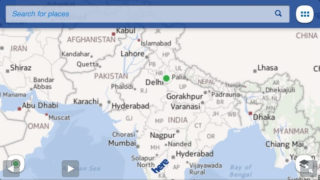 Nokia submits maps app for ios launches here cloud navigation nokia today announced it has submitted a navigation app for ios which would be available for free in the app store as here in coming weeks gumiabroncs Gallery