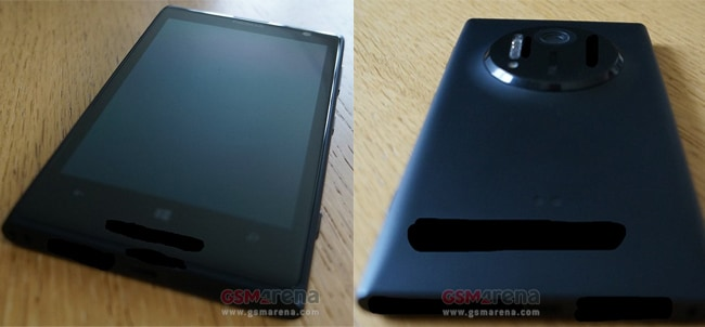 Alleged photos of the Nokia EOS with PureView camera ...