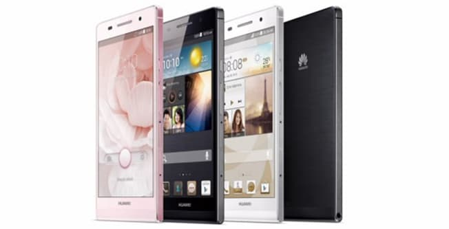 Huawei Ascend P6 announced, is the world's thinnest Android smartphone with quad-core processor, 5-megapixel front camera and running on Android 4.2 Jelly Bean