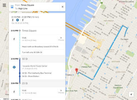 Google Maps For IOS Gets Revamped Design And New Features BGR India - Get walking directions google maps