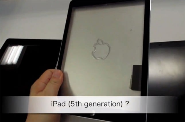 Purported iPad 5 and iPhone 5C plastic shells leak yet again [video]