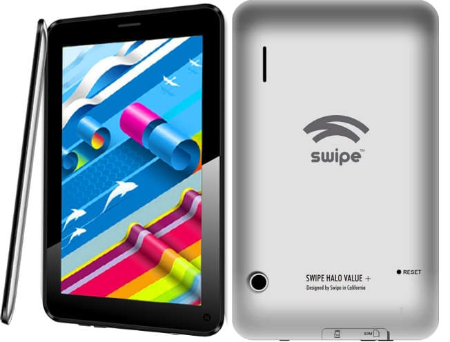 Swipe Halo Plus 7-inch Android tablet with voice calling launched, prices start from Rs 6,699