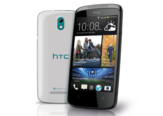 HTC Desire 500 with quad-core processor and 8-megapixel camera launched in India for Rs 21,490