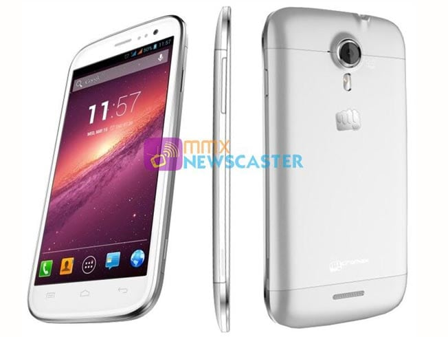 Micromax Canvas Magnus A117 featuring 5-inch display and quad-core processor leaked, launch imminent