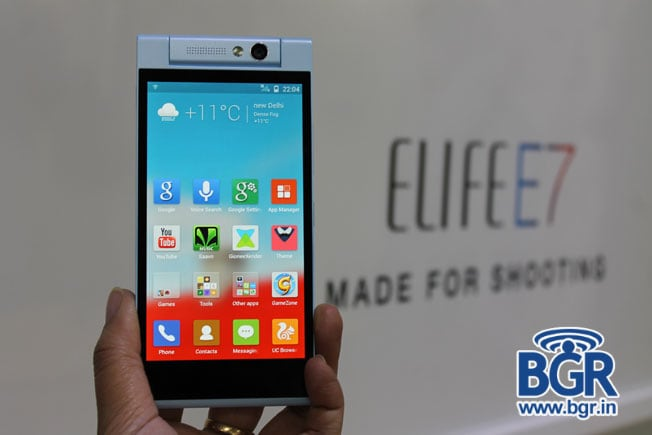 Gionee Elife E7 mini with true octa-core MediaTek processor launched in India for Rs 18,999