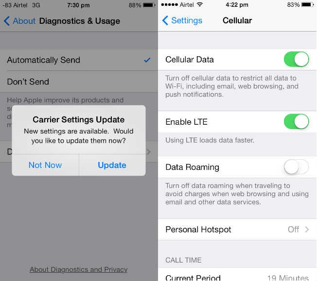 how to prevent cellular download iphone