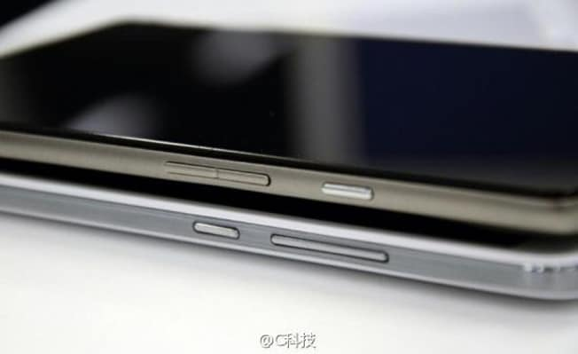 Purported Huawei Ascend Mate 2 photos hinting at a brushed metal back leaked