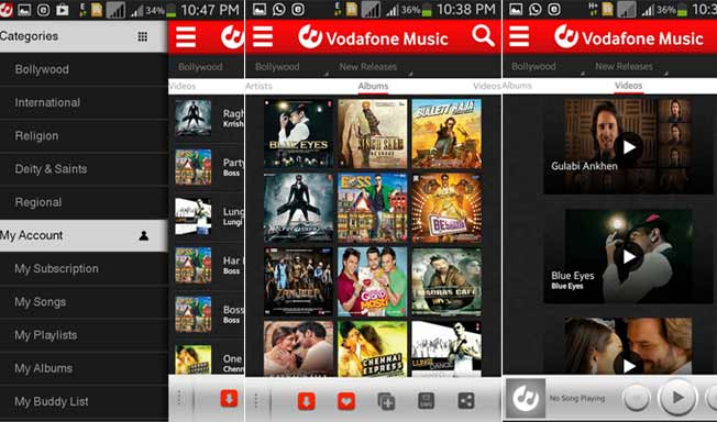 Vodafone Music service launched, to take on Saavn, Gaana Dhingana