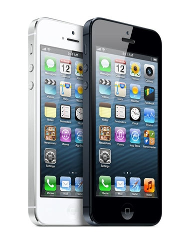 Apple iPhone 5 White and Black color