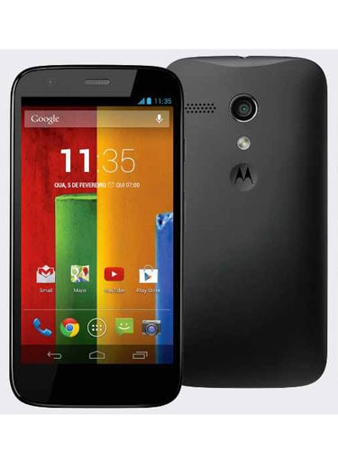 Motorola Moto G Front and Back
