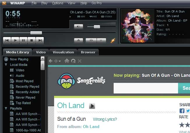 Winamp to be reportedly acquired by Belgium online radio aggregator Radionomy