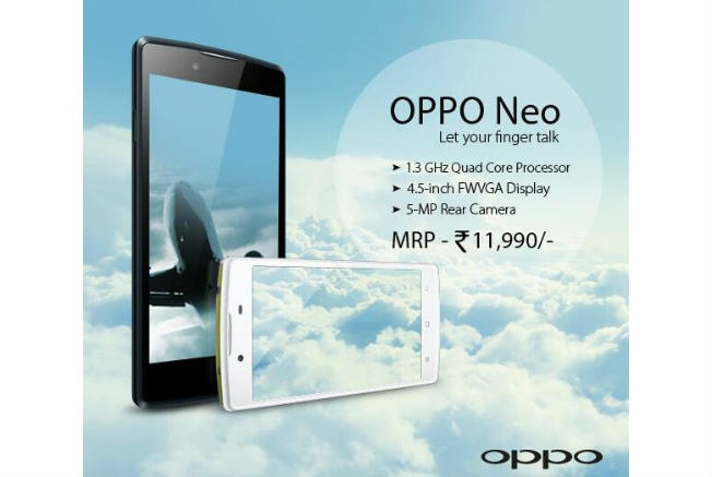 Oppo-Neo-india-launch
