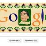 Nightingale of India, Sarojini Naidu, honored with a Google doodle…