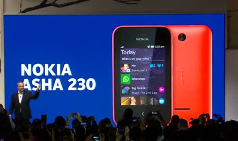 MWC 2014 Live: Nokia Asha 230 announced for 45 Euros ...