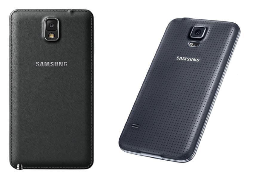 Samsung Galaxy S5 vs Samsung Galaxy Note 3: Specifications and ...