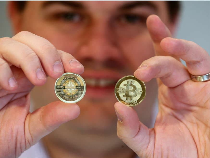 Bitcoin Reached a Record USD 9683