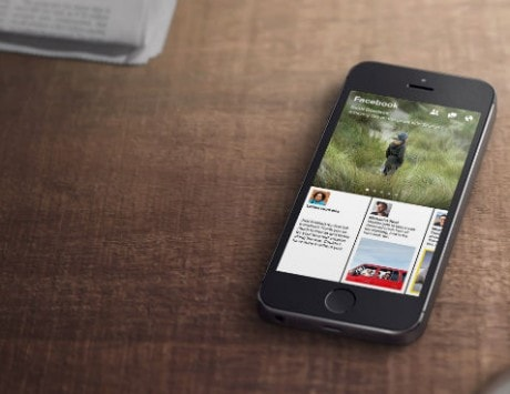 Facebook upgrades its iPhone app Paper