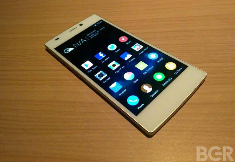 Gionee Elife S5.5 now available in India priced at Rs 22,999