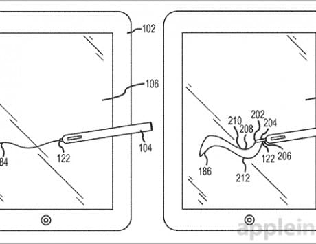 New Apple patent reveals more details on its possible iPad stylus