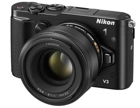 Nikon 1 V3 'world's fastest' interchangeable lens camera launched