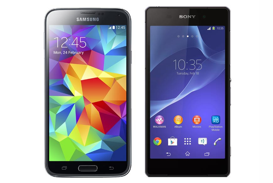 Samsung Galaxy S5 vs Sony Xperia Z2: Features and ...