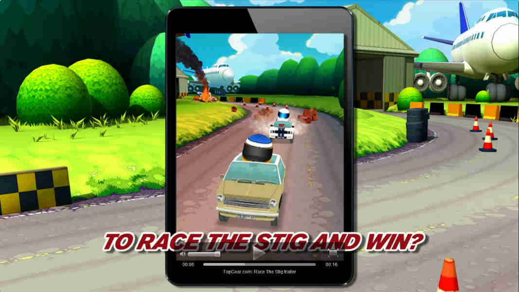 Top Gear' meets 'Temple Run' with free Stig racing app | BGR