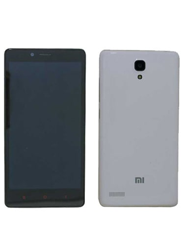Xiaomi Redmi Note Front and Back