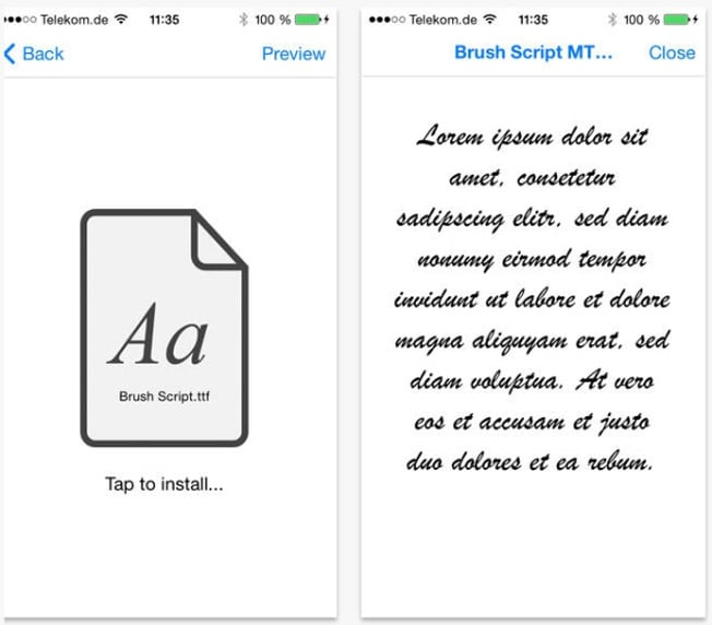 This is the best way to get custom fonts on your iPhone and