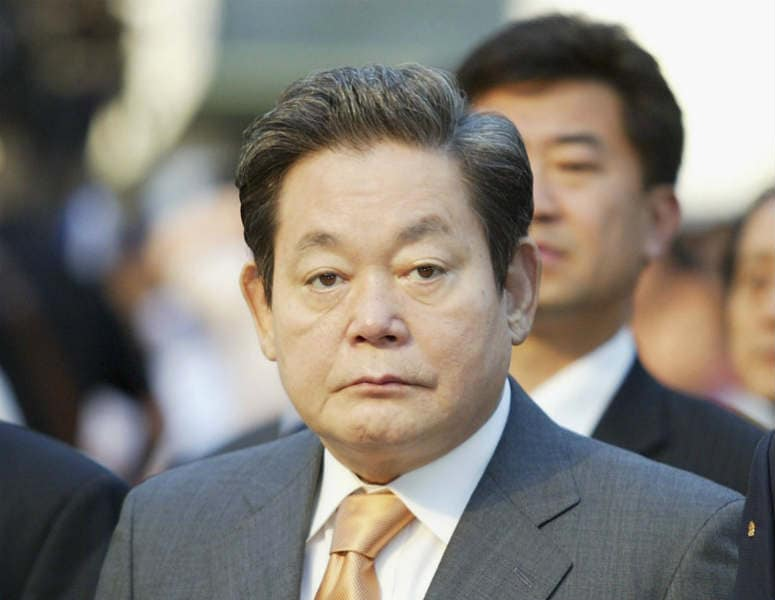 samsung s ceo lee kun hee s leadership Leadership crisis facing samsung,  yoon-woo lee as vice chairman and ceo a  to former chairman lee kun-hee's strong leadership and the .