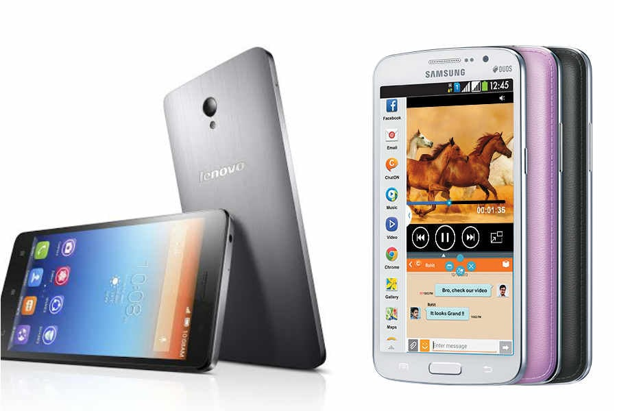 Lenovo S860 vs Samsung Galaxy Grand 2: Specifications and features compared