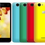 Micromax Canvas 2 Colors A120 listed on company's official website