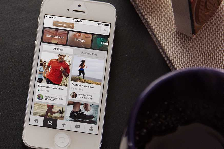 Pinterest iOS app update brings new button that easily allows users