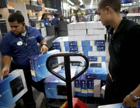 PS4 sales double Xbox One as console war heats up