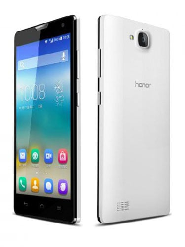 Huawei Honor 3C Back and front