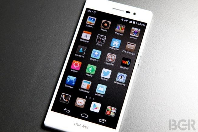 Huawei Ascend P7 available online in India, priced at Rs 27,999