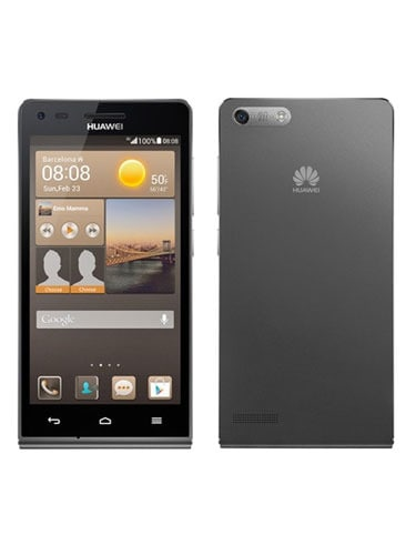 Huawei Ascend G6 Back and front