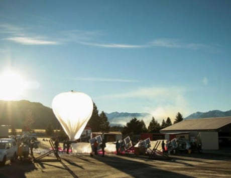 Google's Wi-Fi balloons get mistaken for UFOs