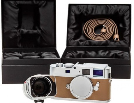 This is the $21,000 Silver Anniversary Edition Leica M Monochrom