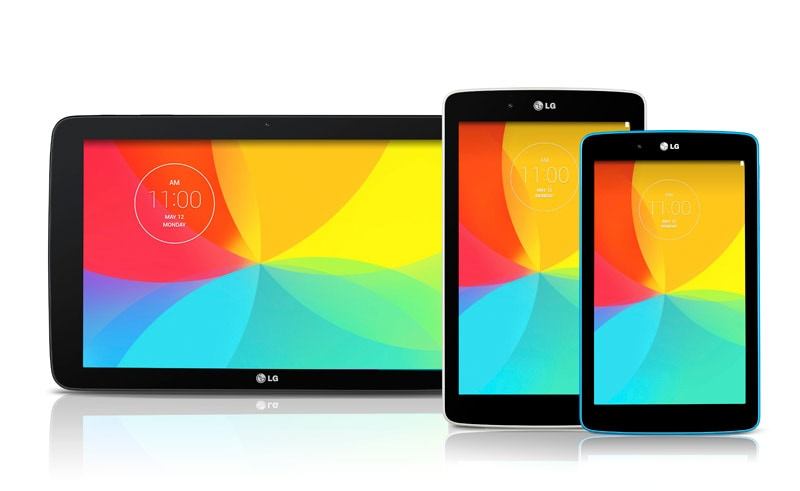 LG G Pad 7.0, G Pad 8.0 and the G Pad 10.1 announced