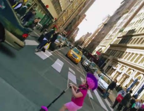 'Bullet time' effect created using Lumia 1020 in Nokia's 'Living Moments' video
