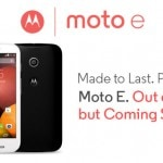 Motorola sells 20,000 units of Moto E in under one…