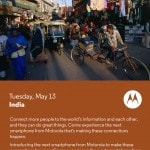 Motorola sends invite for May 13 smartphone launch in India,…