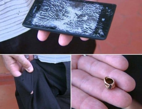 Nokia Lumia 520 saves cop from a bullet
