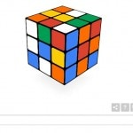 Rubik's Cube 40th anniversary celebrated with playable Google doodle