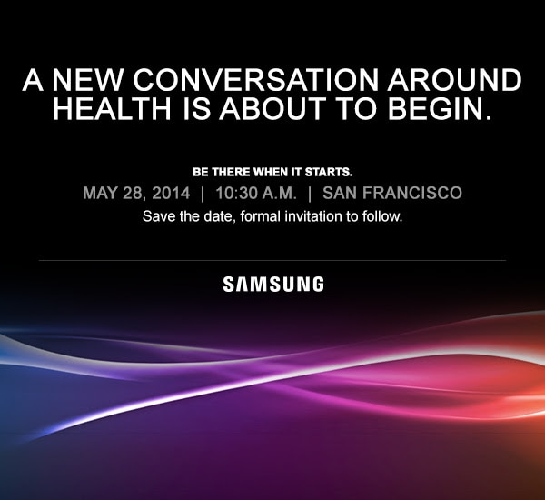 Samsung Fitness Launch on May 28,
