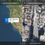 Flyover City Tours feature in Apple iOS 8 and Yosemite…