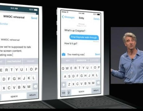 iOS 8 gets QuickType keyboard with predictive typing suggestion